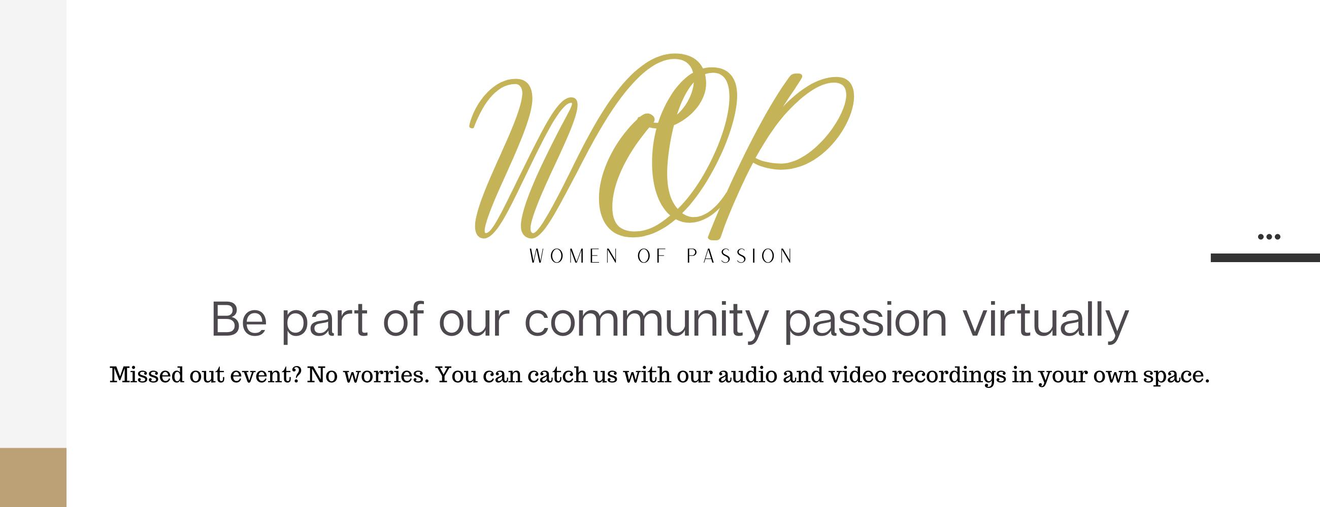 Women of Passion